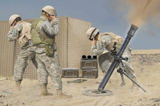 Hobby Boss M252 Mortar