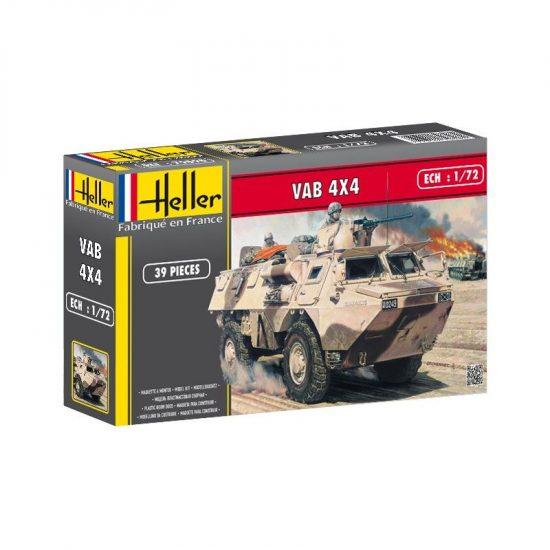Heller Truppentransporter VAB 4x4 makett