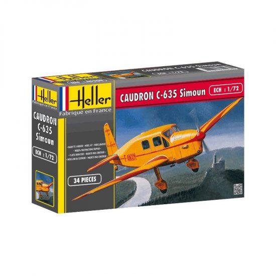 Heller Caudron C 635 Simoun makett