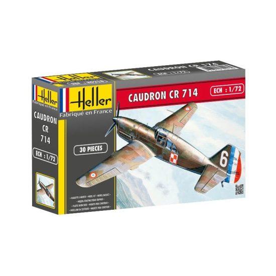 Heller Caudron CR 714 makett