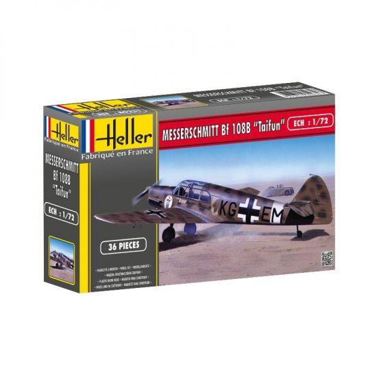 Heller Messerschmitt Bf 108 B Taifun makett