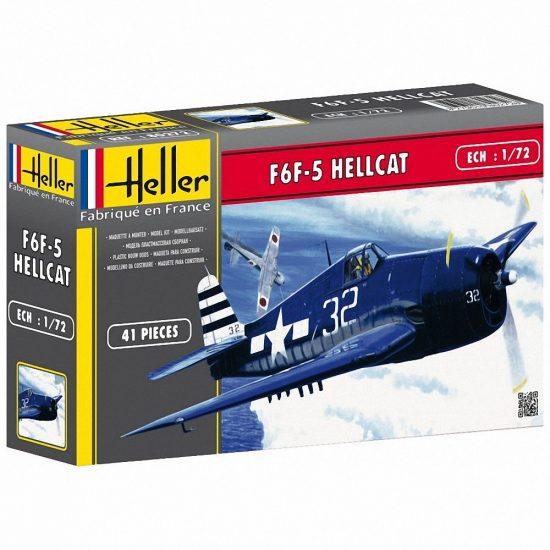 Heller Grumman F6F Hellcat makett