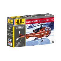 Heller Aerospatiale Alouette III Sécurité Civile makett