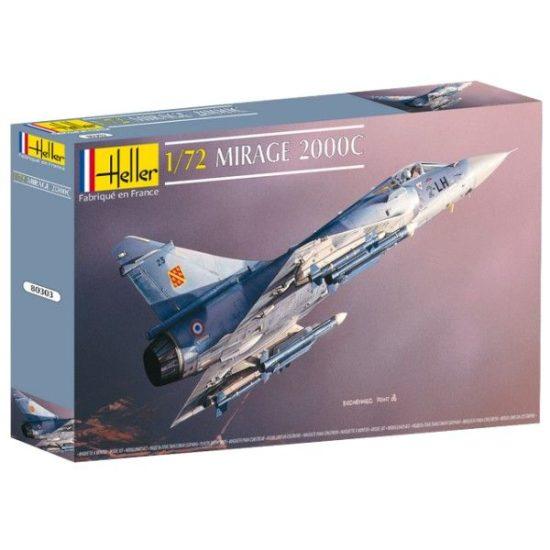 Heller Dassault Mirage 2000 C makett