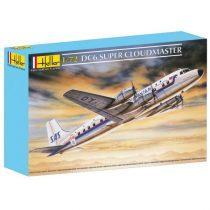 Heller Douglas DC-6 Super Cloudmaster makett