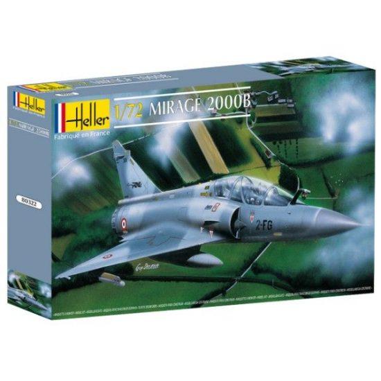 Heller Dassault Mirage 2000 B makett