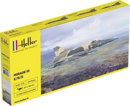 Heller Dassault Mirage III E makett