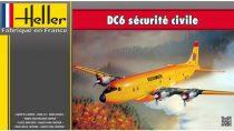 Heller DC6 Securite Civile makett