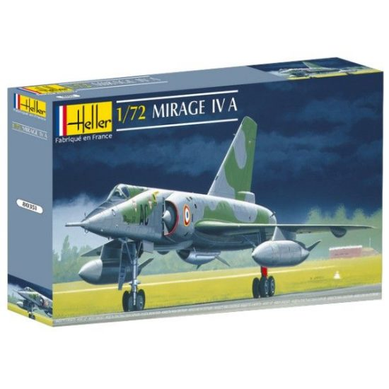 Heller Dassault Mirage IV A makett