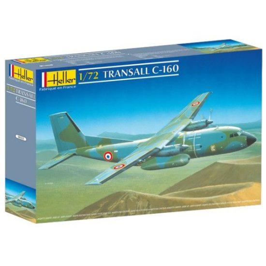 Heller Transall C 160 makett