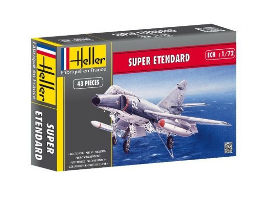 Heller Dassault Super Etendard makett