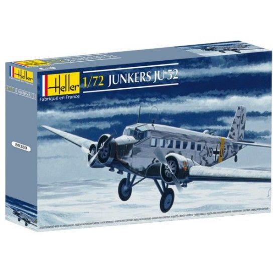 Heller Junkers Ju-52/3m makett