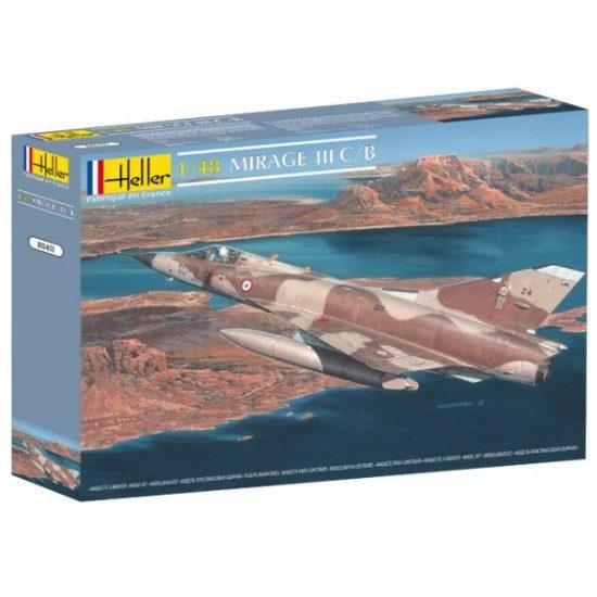 Heller Dassault Mirage III C/B makett
