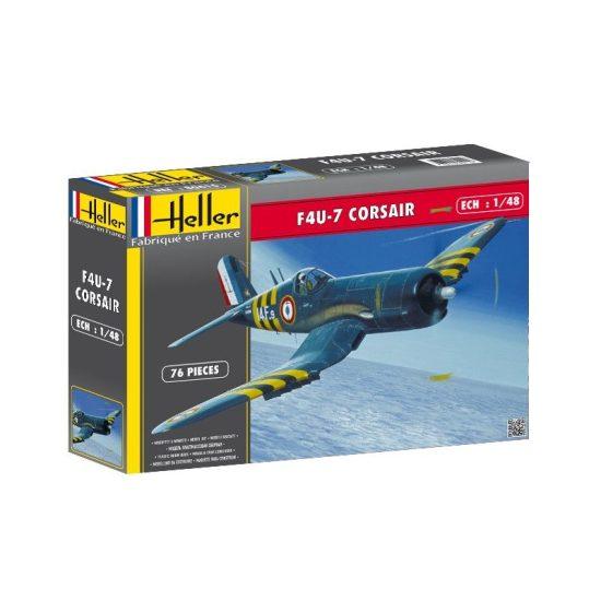 Heller Vought F4U-7 Corsair makett