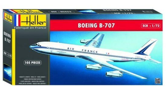 Heller Boeing B-707 A.F. makett