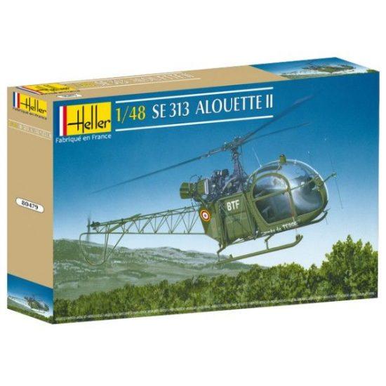Heller Aerospatiale SE 313 Alouette II makett