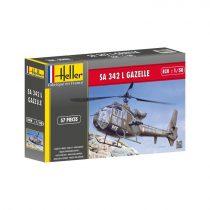 Heller SA 342 Gazelle makett