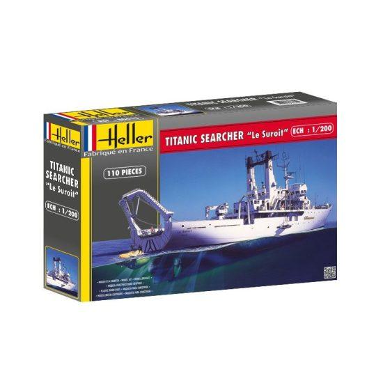 Heller Titanic Searcher Le Suroit makett