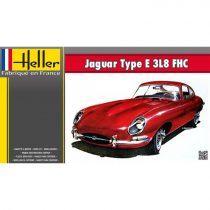 Heller Jaguar Type E 3L8 FHC makett