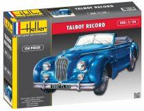 Heller Talbot Lago Record makett