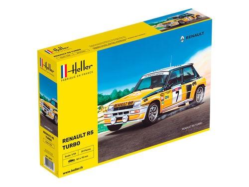 Heller Renault R5 Turbo makett