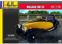 Heller DELAGE D8 SS makett