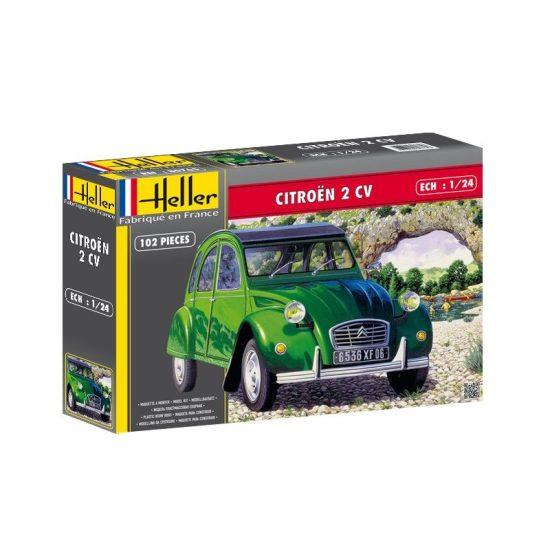 Heller Citroën 2 CV makett