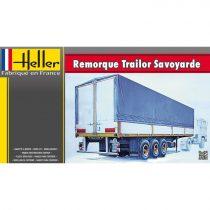 Heller Remoroque Trailor Savoyarde makett