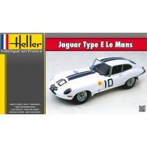 Heller Jaguar Type E Le Mans makett