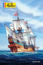 Heller Golden Hind makett