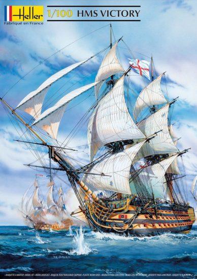 Heller HMS Victory makett