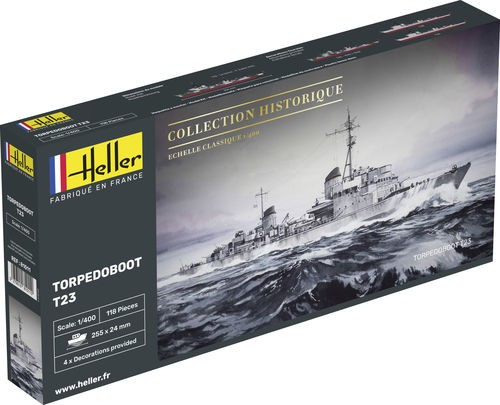 Heller Torpedoboot T-23 makett