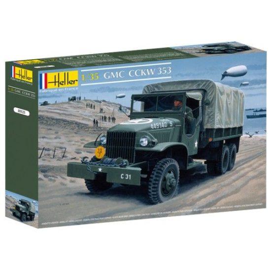 Heller GMC US-Truck makett