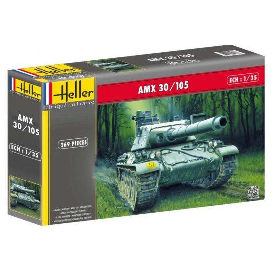 Heller Panzer AMX 30/105 makett