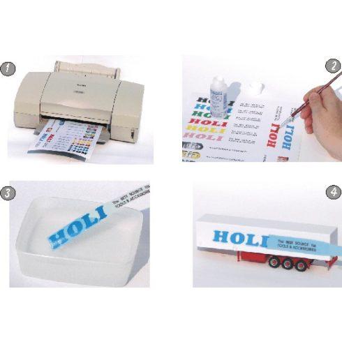 Fehér matricalap - A4 lézer nyomtatóhoz 1db