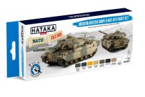 Hataka Modern British Army & RAF AFV paint set