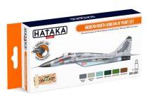 Hataka Modern North Korean AF paint set