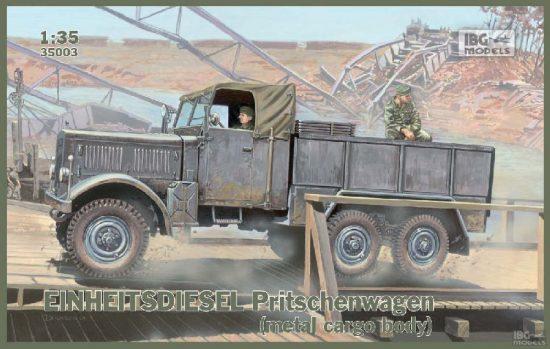 IBG Einheitsdiesel Pritschenwagen