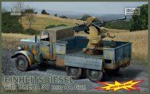IBG Einheitsdiesel with Breda 37mm AA Gun makett