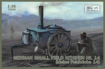 IBG German small field kitchen Hf.14 makett