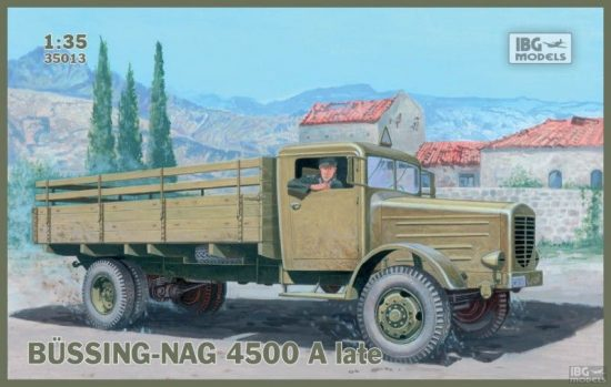 IBG Bussing-Nag 4500 A late makett