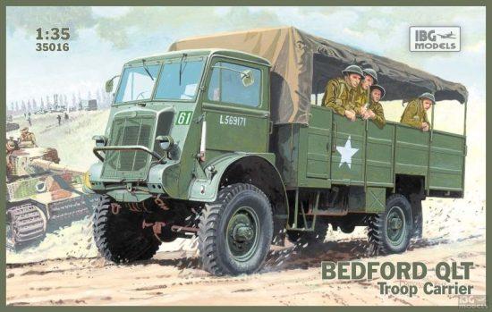 IBG Bedford QLT makett