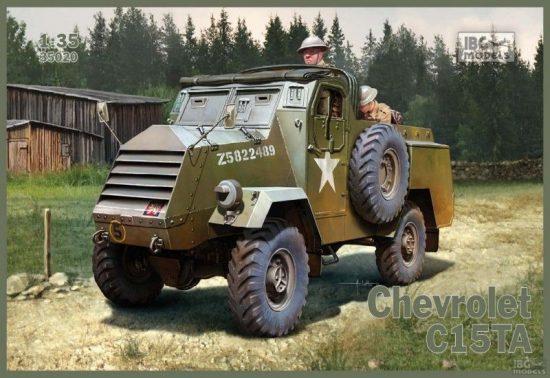 IBG Chevrolet C15TA makett
