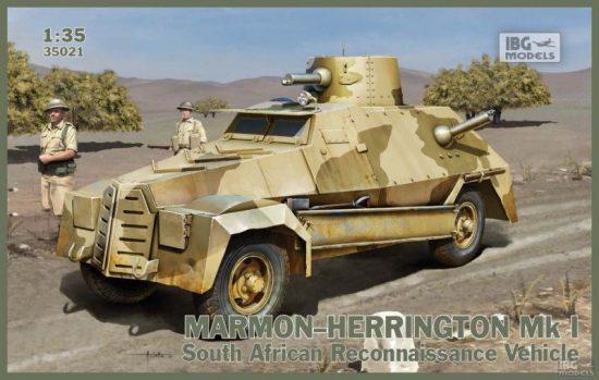IBG Marmon-Herrington Mk.I makett
