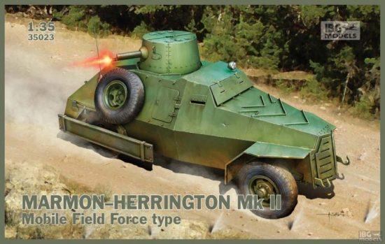 IBG Marmon-Herrington Mk.II Mobile Field Force type makett