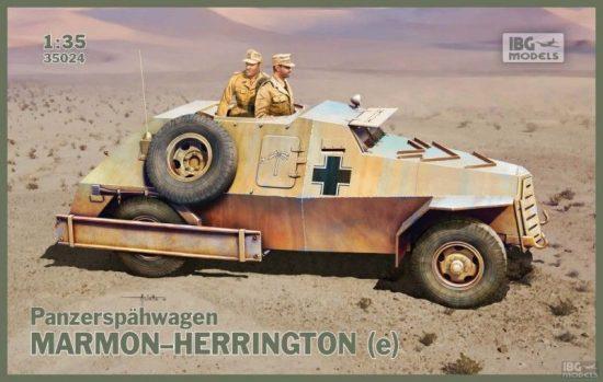 IBG Marmon-Herrington (e) Panzerspahwagen makett