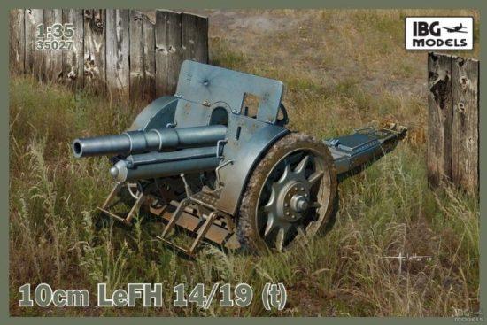 IBG Skoda 10cm LeFH 14/19 (t) makett