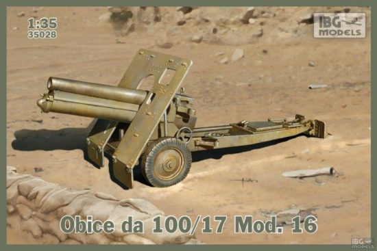 IBG Obice da 100/17 Mod.16 makett