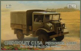 IBG Chevrolet C15A Personnel Lorry (Cabs 12 and 13 in the box)