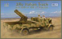 IBG 3Ro Italian Truck with 100/17 100mm Howitzer makett
